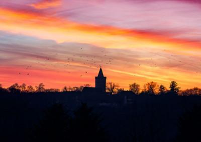 Burg Stargard Herbst
