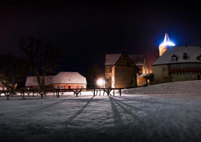Burg Stargard Wintermärchen