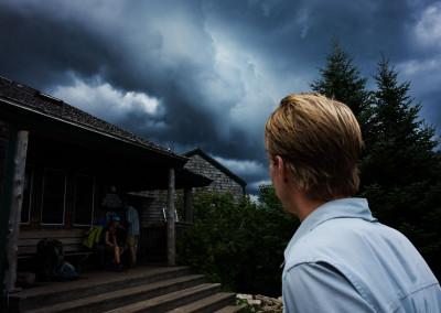 Der Sturm naht