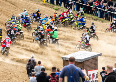 Motocross Landesmeisterschaft auf dem MC Fichtenring in Burg Stargard.